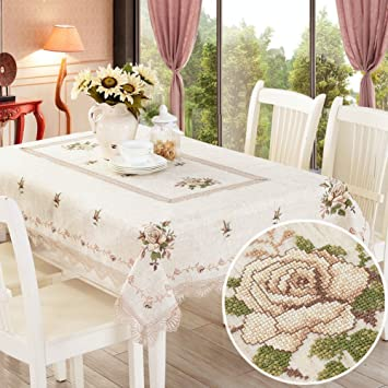 Amazoncom Rural Washable Table Sheet Wedding Restaurant Party