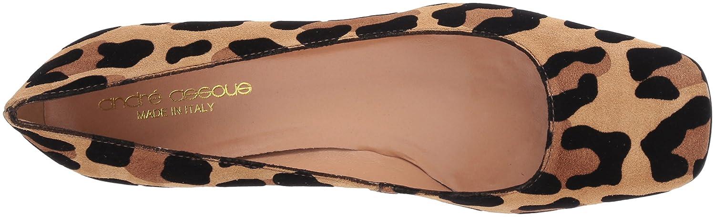 André B077817SCX Assous Women's Janie Pump B077817SCX André 7.5 B(M) US|Camel Leopard Sued cbf382