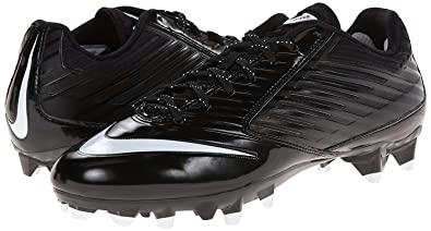wholesale dealer 4b5ab 3b481 Nike Men s Vapor Speed 2 TD Football Cleat Black Anthracite Metallic Silver  Size 10