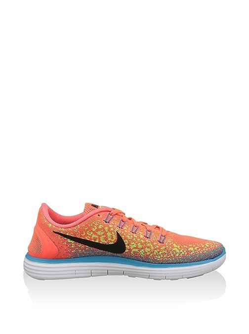 newest 2ead7 480be Amazon.com   Nike Men s Free Rn Distance Running Shoe (8.5 D(M) US, Hyper  Orange Black-Volt)   Road Running