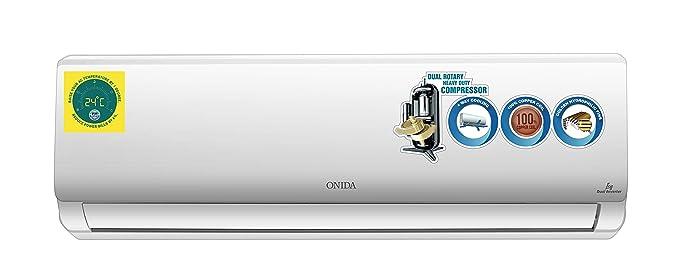 Onida 1.5 Ton 5 Star Inverter Split AC  Copper IR185ICY White  Air Conditioners