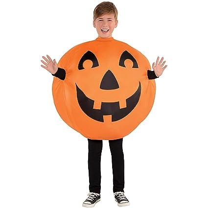 Amazon.com: Disfraz hinchable para niño de Jack-O-Lantern ...