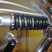 KindShock Unisex/ schwarz Erwachsene Feder-2056327300 Feder 200mm