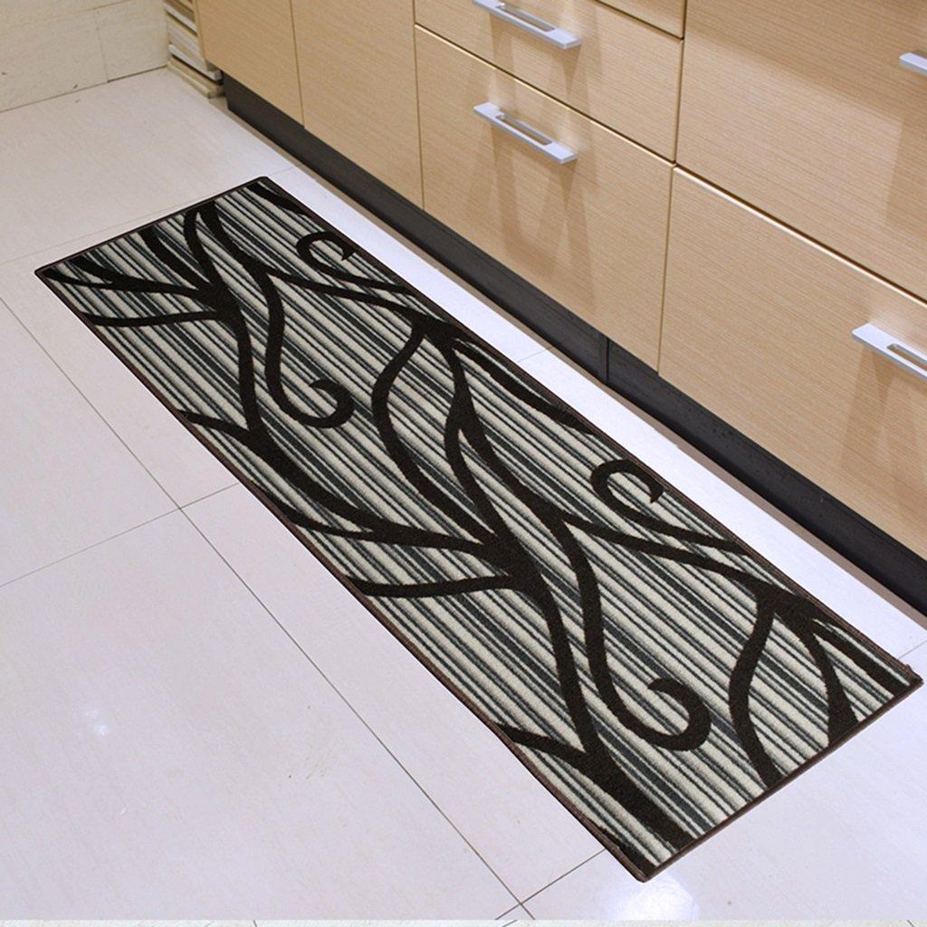 GYP キッチンカーペット吸水防止滑り止めオイル耐性カーペットストリップフットパッドドアマットバスルーム ( 色 : A , サイズ さいず : 50*250CM )   B078LZ4SSD