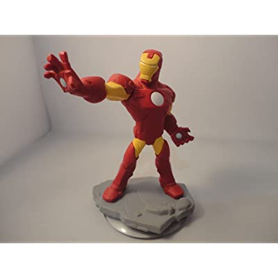 Disney INFINITY: Marvel Super Heroes (2.0 Edition) Iron Man Figure - No Retail Packaging: Video Games