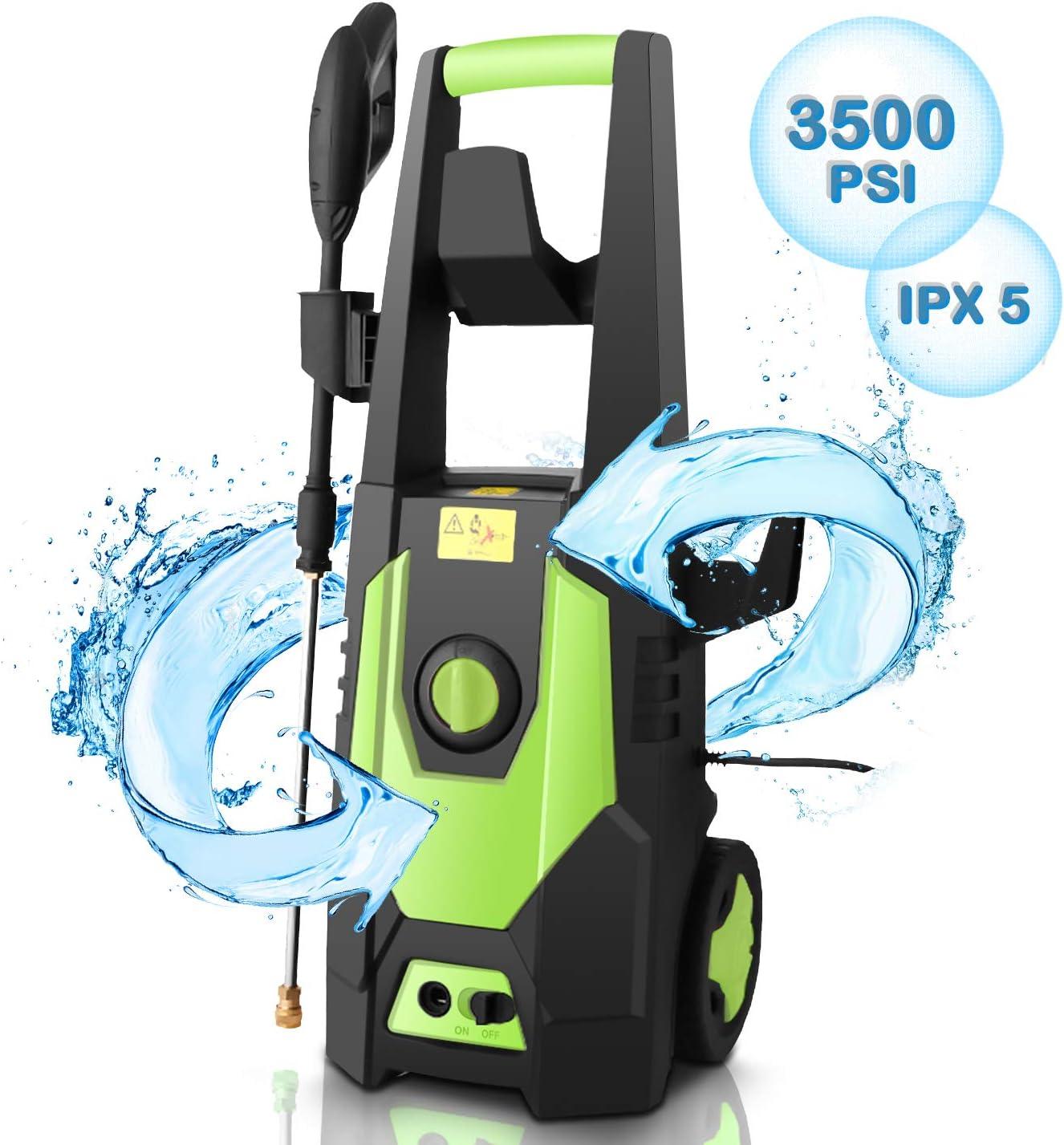 CHAKOR 3500PSI Pressure Washer Electric, 2.0GPM High Power Washer Cleaner Machine