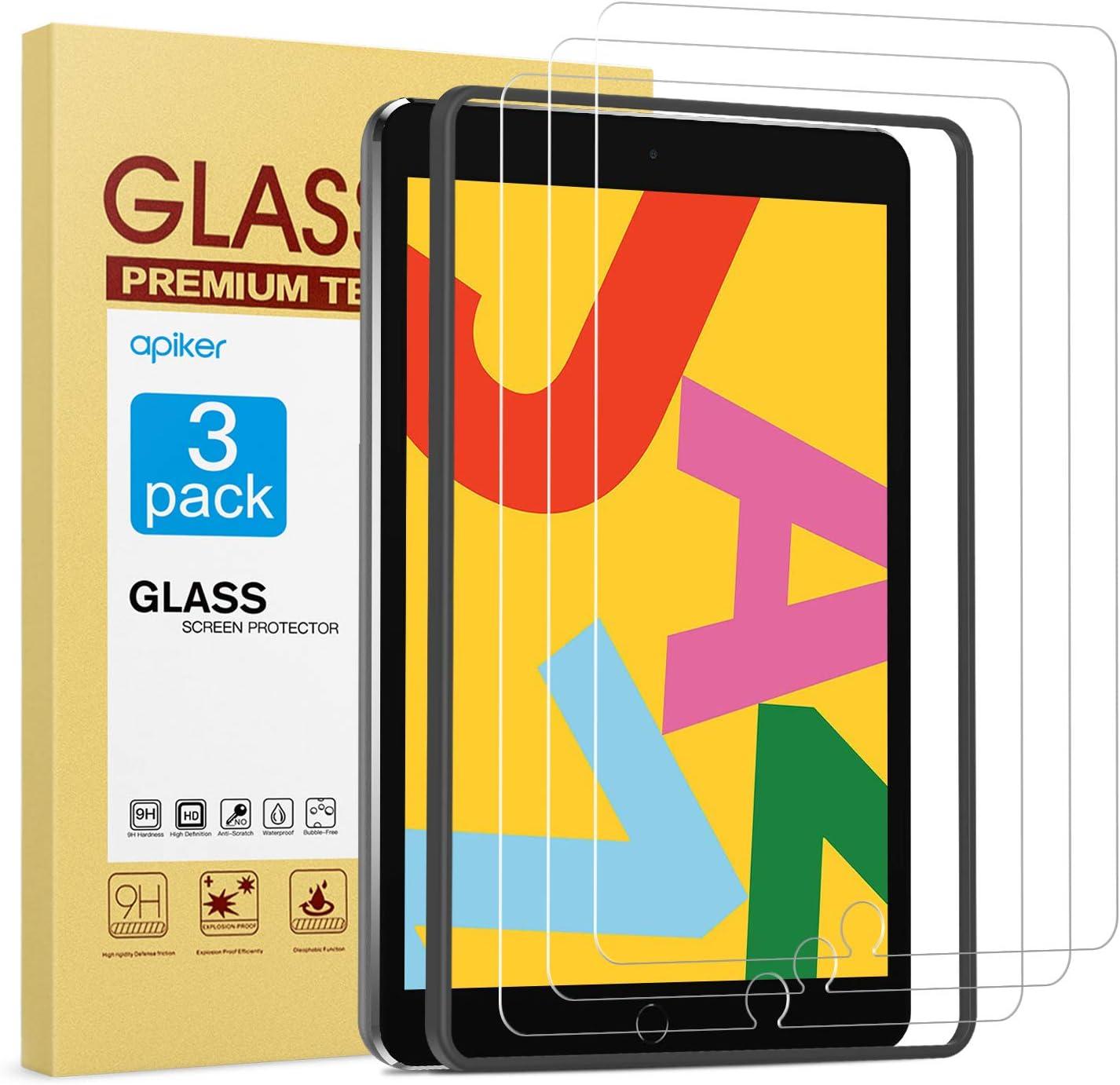 Protector de pantalla para iPad 7 10,2 pulgadas, modelo 2019