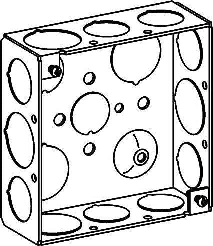 Orbit 4sb 5075 Electric Box 1 12 Deep Welded Box W12 34