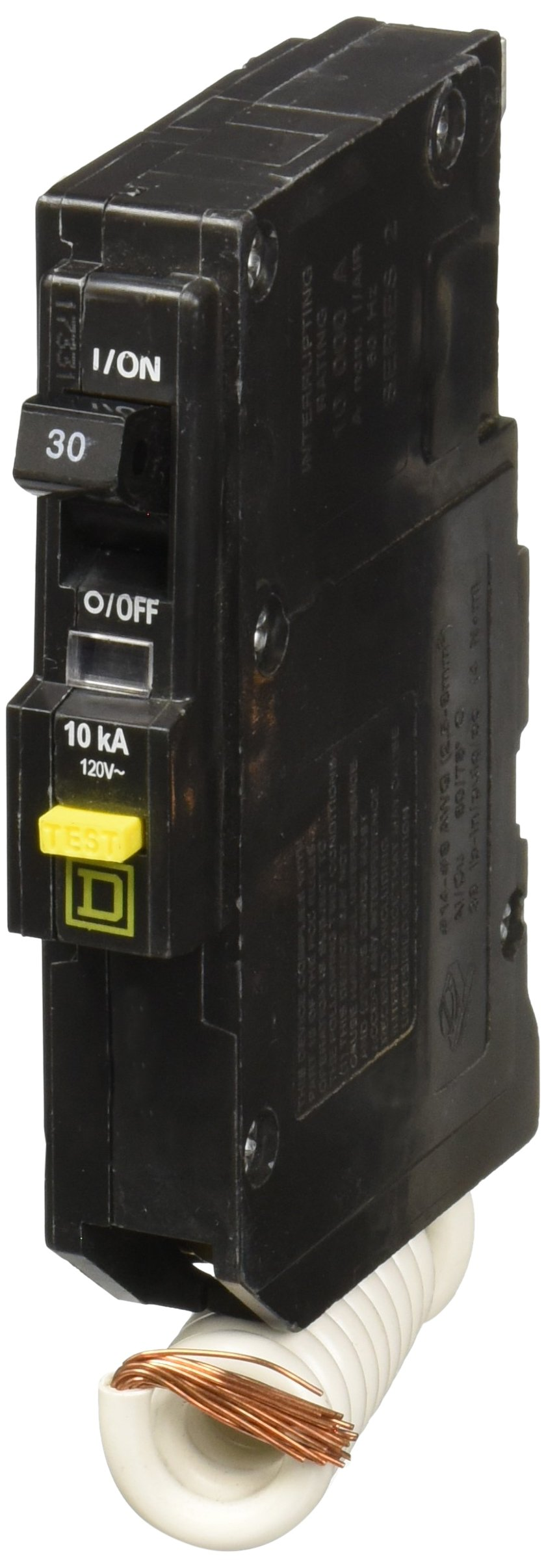 SQUARE D BY SCHNEIDER ELECTRIC QO130GFI MINIATURE CIRCUIT BREAKER 120V 30A