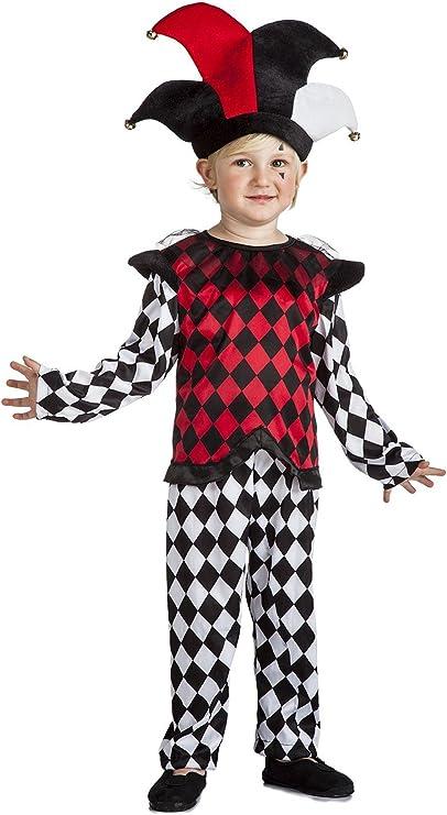 Disfraz Arlequín 5-6-: Amazon.es: Juguetes y juegos