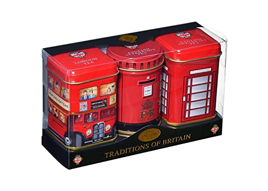 Lata de té inglesa en miniatura, tradiciones, Reino Unido ...