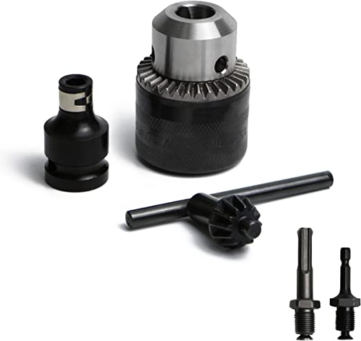 "1//4/"" Hex Shank Chuck Adapter SDS Converter Adapter Nut Driver Drilling Tools"