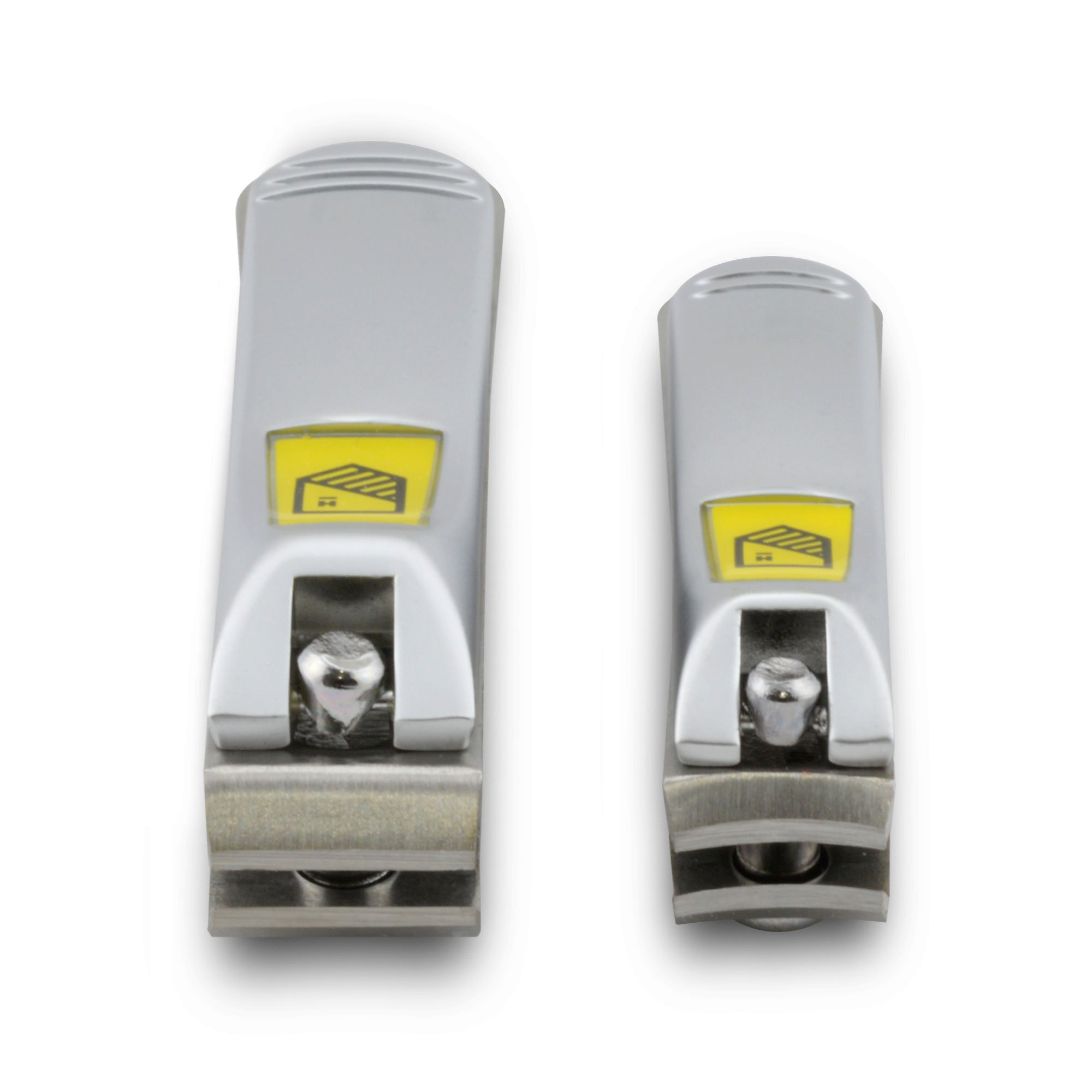 Harperton Nail Clipper Set - Fingernail and Toenail Clipper (Curved + Straight Jaw) by Harperton (Image #2)