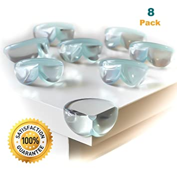 Attrayant Clear Corner Guards For Child Safety, Corner Bumpers, Baby And Kids Clear  Furniture Corner