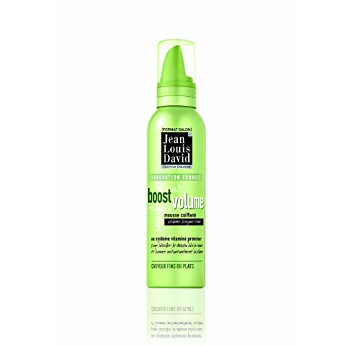 Jean Louis David - Mousse Coiffante Boost Volume Au Système Vitaminé Protecteur - 200 ml