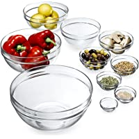Luminarc 10-Piece Stackable Bowl Set