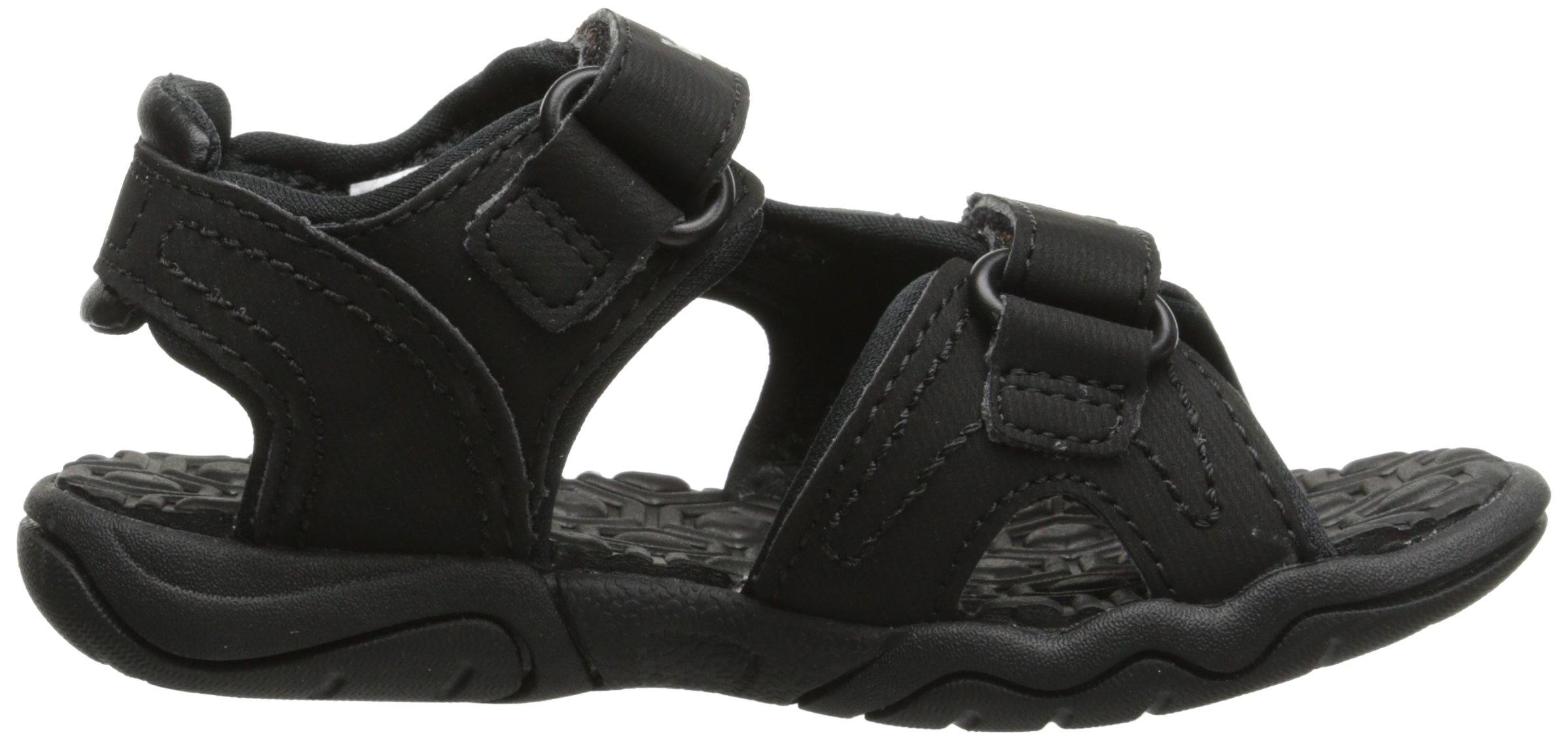 Timberland Adventure Seeker Two-Strap Sandal (Toddler/Little Kid),Blackout,9 M US Toddler by Timberland (Image #7)