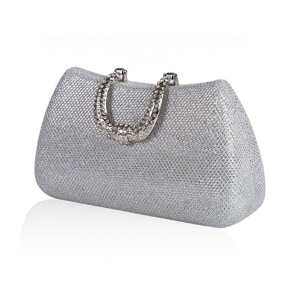 Bolso de mano monedero embrague Sparkling nupcial de la boda embrague bolsa de dama de honor bolsa banquete bolsa de cosméticos Bolso del baile de fin de ...