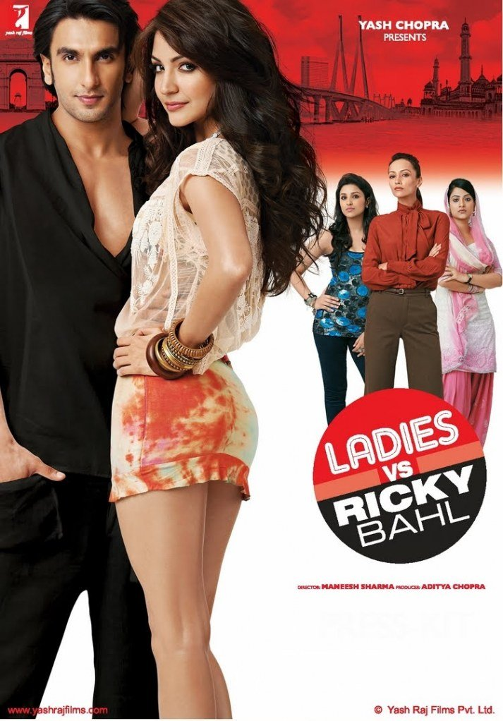 Ladies vs Ricky Bahl(2011) (Hindi Movie / Bollywood Film / Indian Cinema DVD)