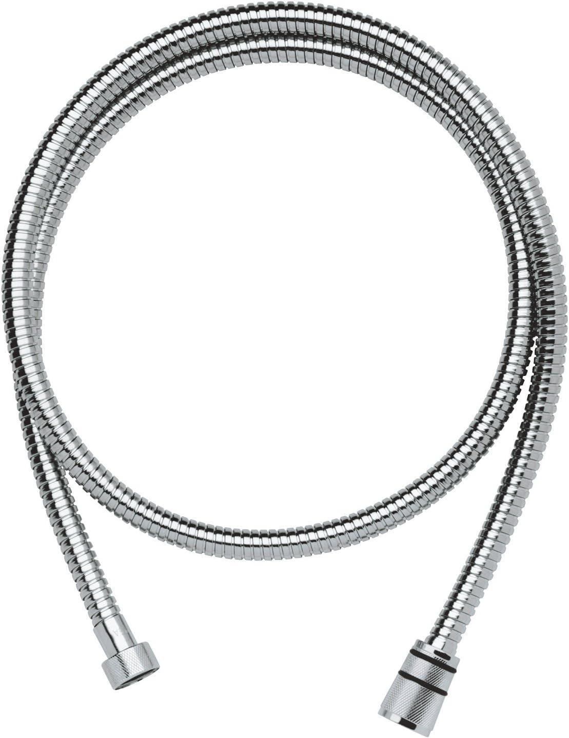 Grohe Rotaflex - Flexo de teleducha de metal con pieza de unión giratoria para la función TwistFree, 1500mm (Ref. 28417000)