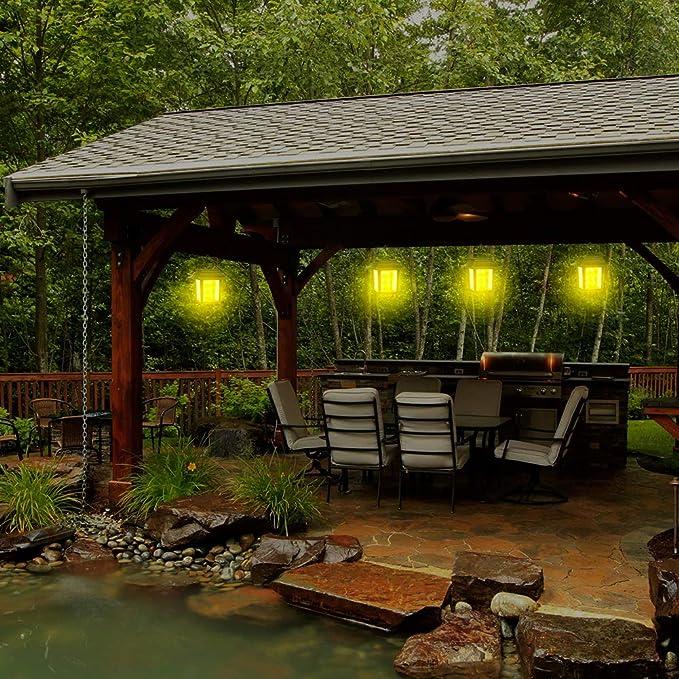 CTlite - Lámpara Solar para Colgar al Aire Libre, Estilo Vintage, LED, luz Solar, lámpara de Mesa Decorativa para Patio, jardín, Exterior, luz Blanca cálida: Amazon.es: Iluminación