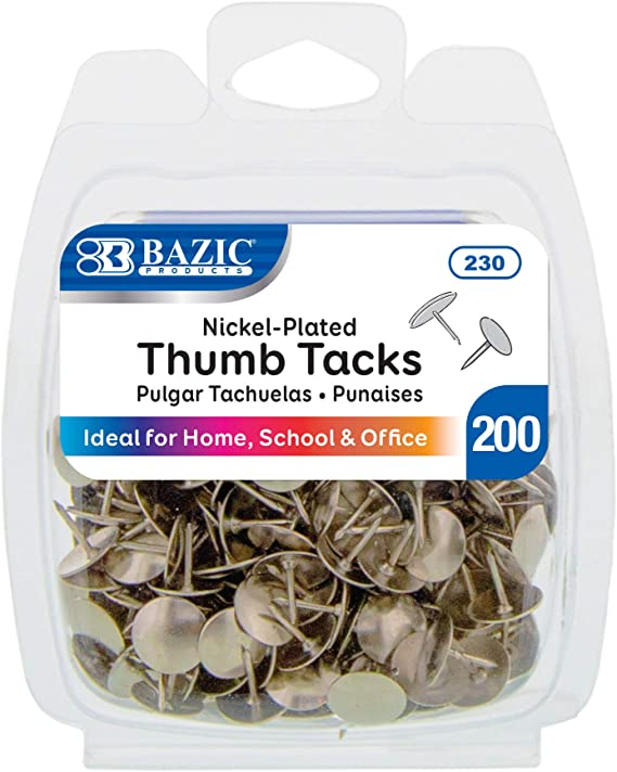 Pack of 50 Ideal For Home Office School Thumb Tack