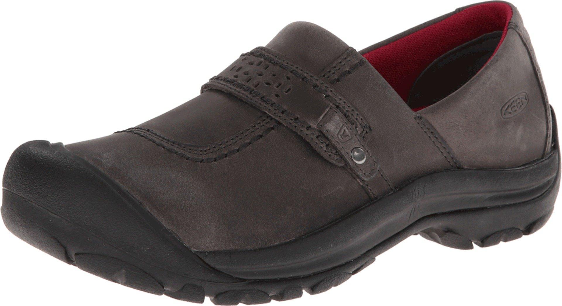 KEEN Women's Kaci Full Grain Slip-On Shoe,Magnet,8.5 M US
