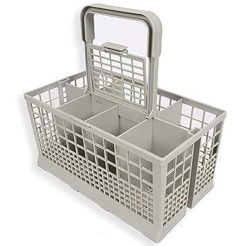 Heaviesk 1 unids Universal lavavajillas Cubiertos Cesta de Almacenamiento Caja de Ayuda de Cocina Pieza de Repuesto: Amazon.es: Jardín