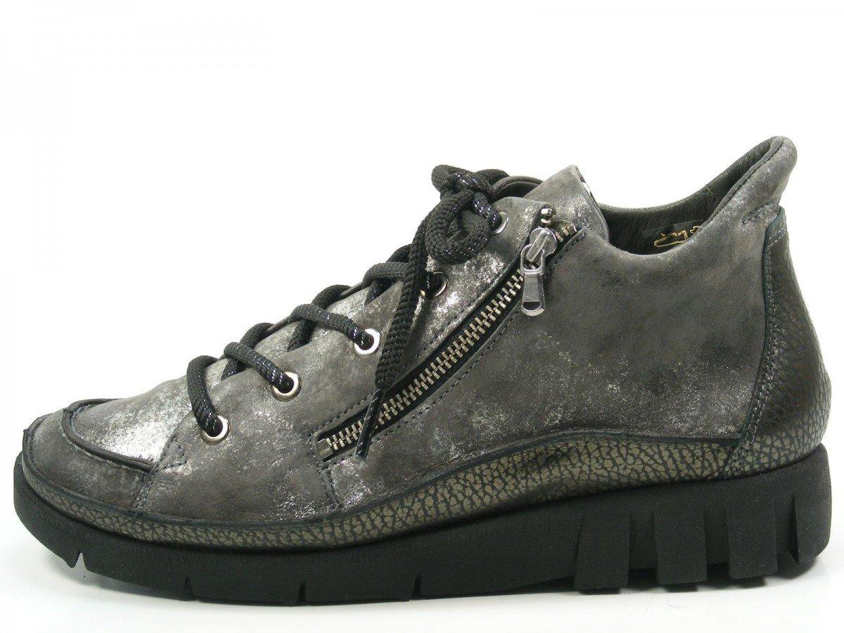 Softwaves 7-32-03 Chaussures de Ville à Lacets à pour pour Femme Lacets Grau 6ee1a79 - therethere.space