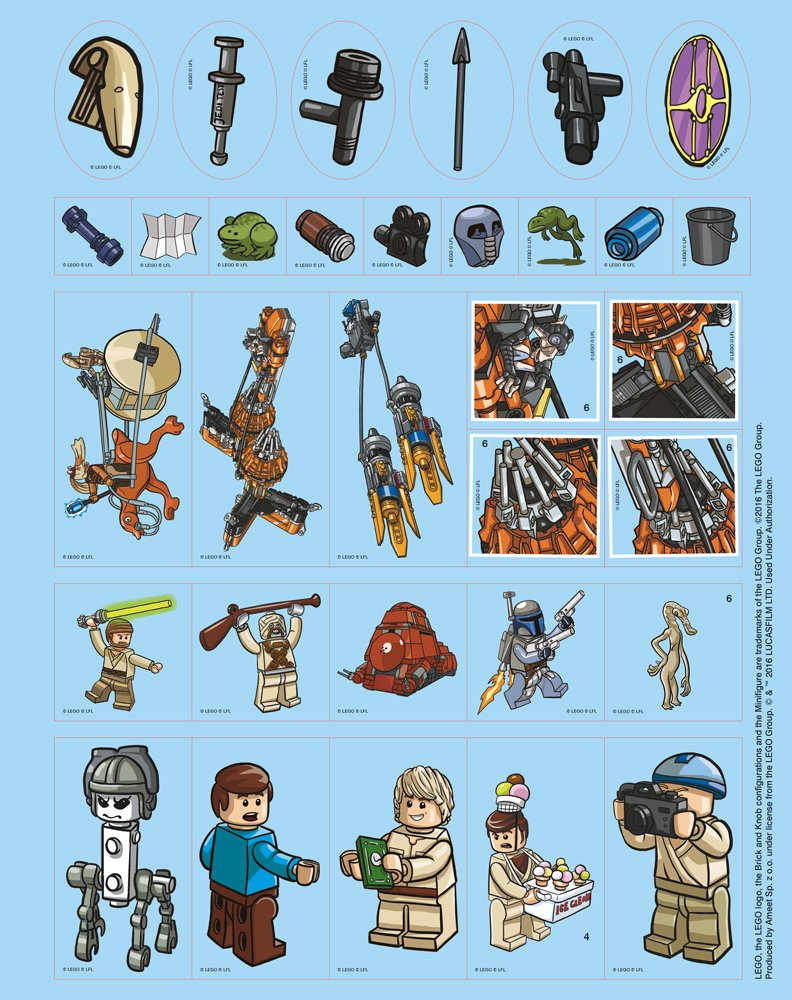 LEGO Star Wars 500 Sticker: Amazon.de: Bücher