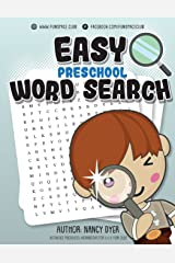 Easy Preschool Word Search: Activities PRESCHOOL workbooks for 3 4 5 year olds: Volume 3 (Fun Space Club Word Search Book for Kids) Paperback
