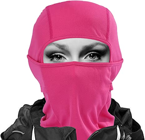 7in1 Balaclava Ski Mask Premium Face Mask Windproof Motorcycle Neck Warmer Gaiter Breathable Tactical Balaclava Hood Quick Dry Cycling Headgear Thermal in Outdoors Moisture Wicking