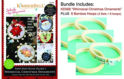 Amazon Com Kimberbell Machine Embroidery Cd Happy Hoop Decor