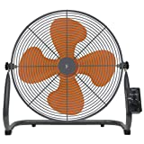 山善(YAMAZEN) 扇風機 45cm工業扇風機 床置き式/ロータリースイッチ/風量3段階 YKY-456
