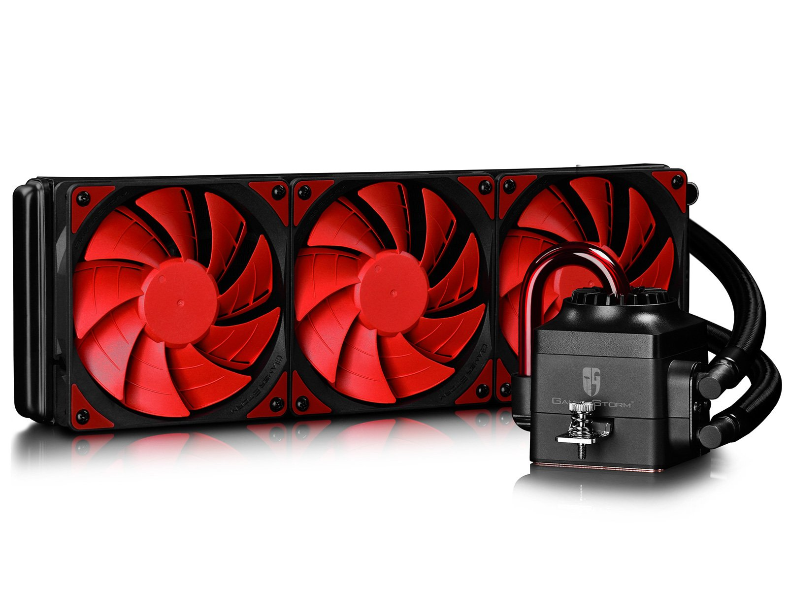 DEEPCOOL Gamer Storm CAPTAIN 360 Extreme Performance AIO Liquid CPU Cooling System (AM4 Compatible), Red, 3-year Warranty by DEEPCOOL