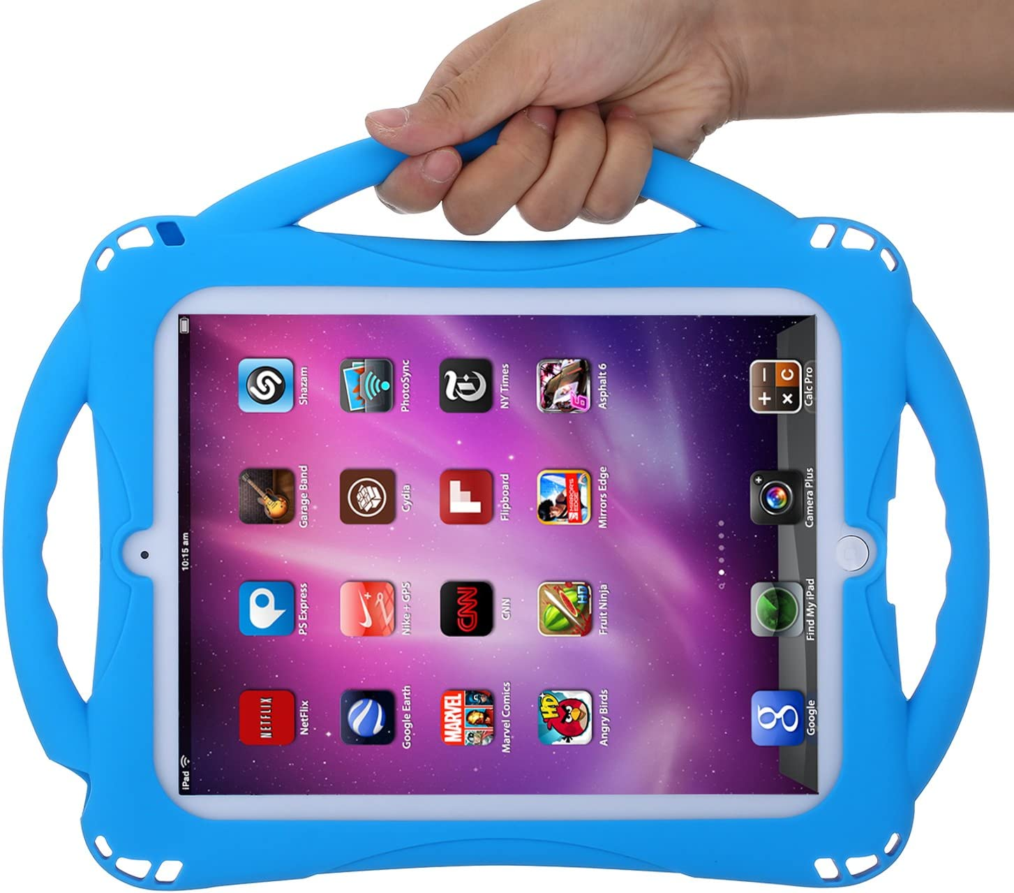 iPad 2//3//4, Pink iPad 2 Case For Kids,TopEsct Shockproof Silicone Handle Stand Case Cover For Apple iPad 2,iPad 3,iPad 4