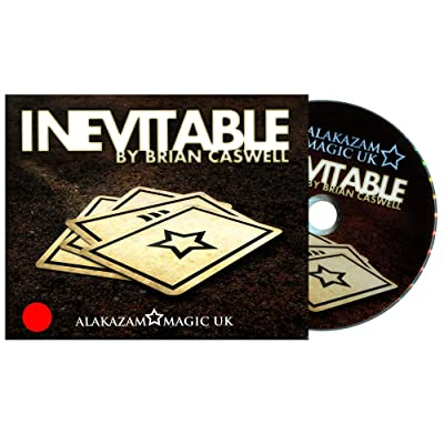 MMS Inevitable Red (DVD and Gimmicks) by Brian Caswell and Alakazam Magic - Tricks: Toys & Games
