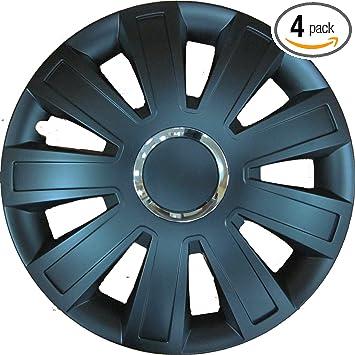 13 inch Brand New car Trims set of 4 14 15 16 Hubcaps//Trims VR Carbon Black