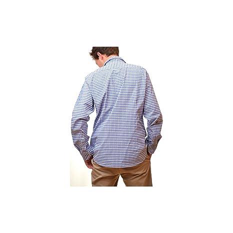 pour La Martina Vêtements Bleu Vichy homme et Chemise wwHFSqA 9ba20cade7b