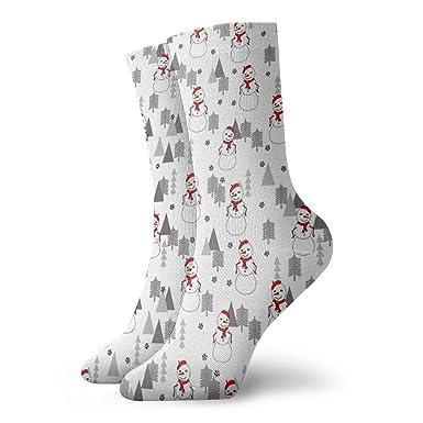 Amazon.com: Calcetines divertidos de Navidad con diseño de ...
