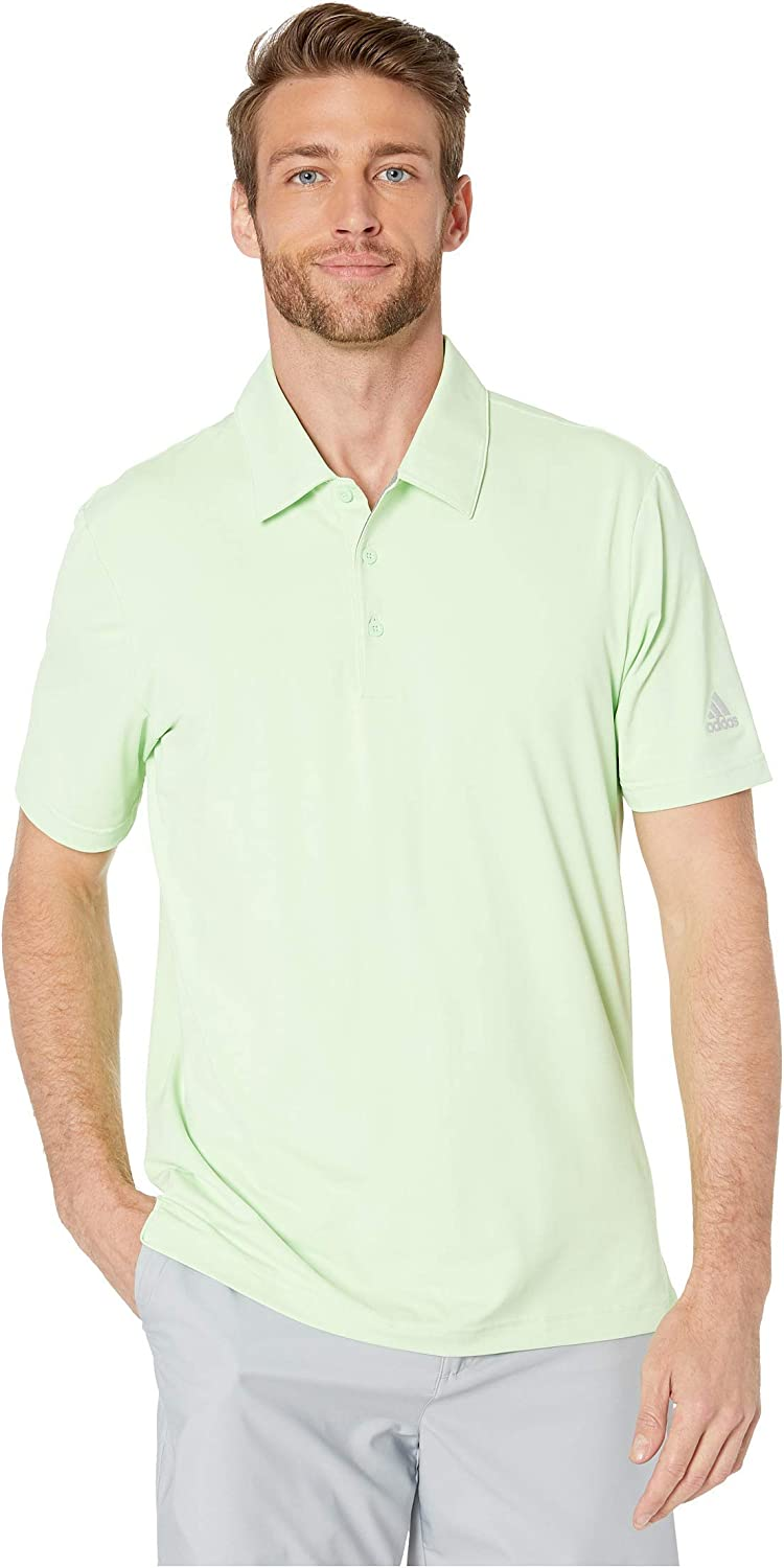 adidas Mens Ultimate 2.0 Solid Polo