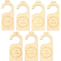 7 Pcs Wooden Baby Closet Divider, Closet Size Dividers for Home, Wardrobe, Nursery Decors, Clothes Classification DIY…