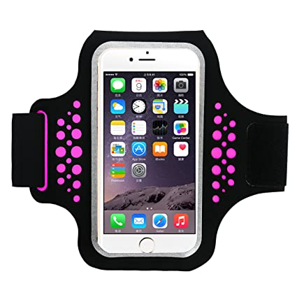 Brazalete Deportivo, Brazalete Movil Transpirable Compatible para iPhone X/8/7, Compatible