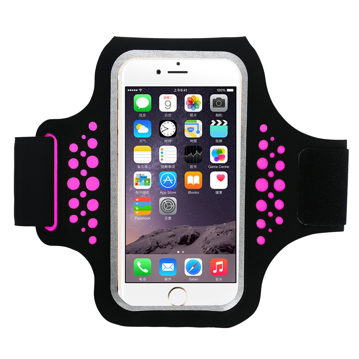 Guzack Brazalete Deportivo Running para Moviles iphone 6/6s/7/8,Galaxy