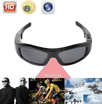 JOYCAM Gafas de sol Cámara de Vídeo Polarizado UV400 Gafas HD 720P para los Deportes Al aire Libre: Amazon.es: Deportes y aire libre