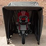 Tekbox Outdoor Motorbike Bike Tent Cover Shed Strong Frame Storage Garage Weatherproof Motorcycle Moped Mobility Scooter