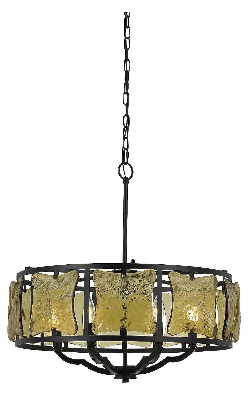 Amazon.com: Lámpara de araña de hierro forjado de 60 W x 6 ...