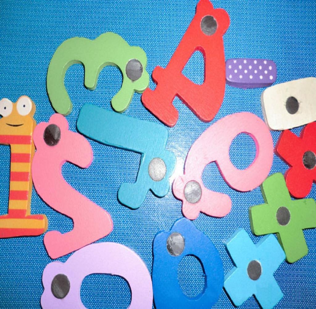 Covermason Kinder Baby Z/ählen Spielzeug Magnetische Holz Zahlen Math Set Digitale p/ädagogisches Spielzeug