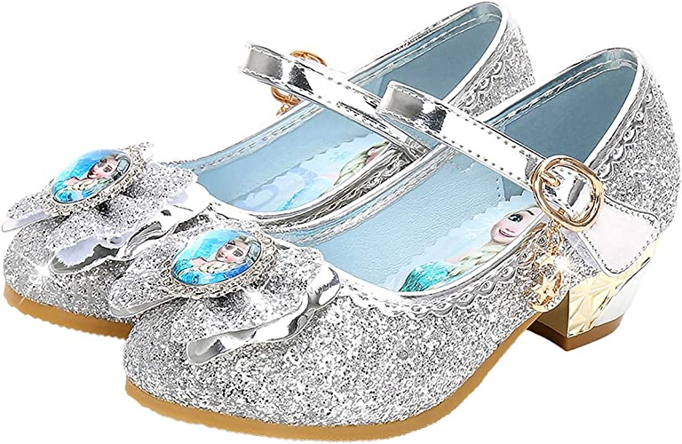 chaussure reine des neige a talon taille 28 29