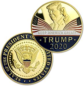kim trump challenge coin
